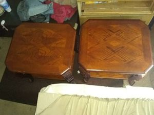 2 end tables for Sale in Wichita, KS