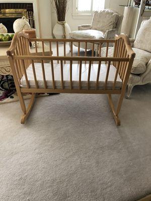 Beautiful baby crib rocker! Priced to sell. for Sale in Warren, MI