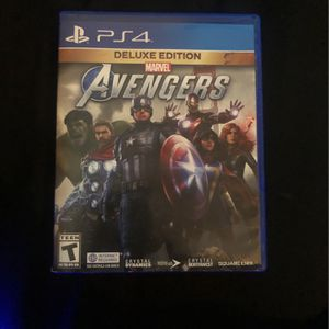 Marvel's Avengers (Deluxe Edition) for Sale in Joliet, IL