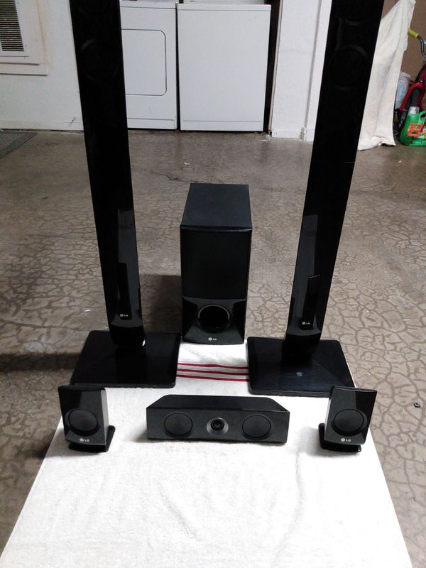 LG 5.1 home theater speaker system