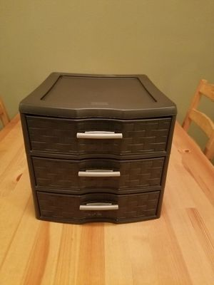Plastic drawer for Sale in Tacoma, WA