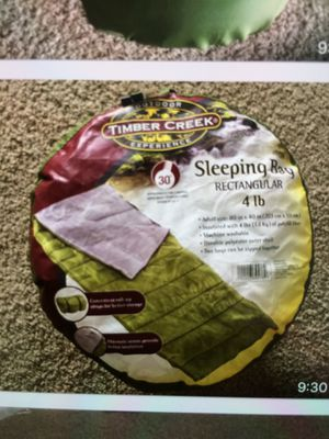 Timber Creek Sleeping Bag Rectangle 4lb for Sale in Naperville, IL