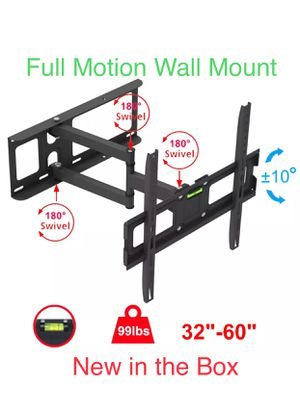 NEW Bracket with all Screws (Full Motion TV Mount) for Sale in Chula Vista, CA
