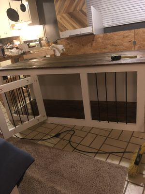Indoor dog kennel with table top for Sale in Jackson, MS