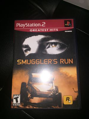 Smuggler's Run (PlayStation 2, PS2) Complete W Manual for Sale in Hialeah, FL