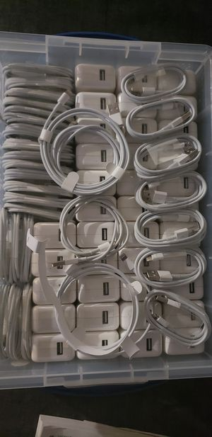 Iphone / iPad chargers. Includes charging block and cable. 30 units for $350. All brand new. for Sale in Paramus, NJ