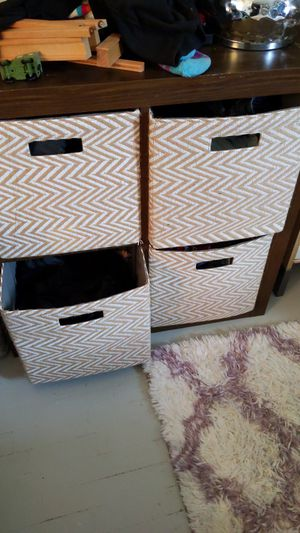 Two free Ikea square cube shelves for Sale in Beaverton, OR