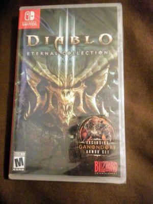 Diablo 3 For Nintendo Switch for Sale in Houston, TX