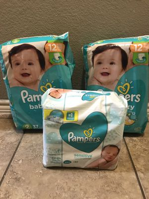Pampers and wipes size 2 for Sale in Arlington, TX