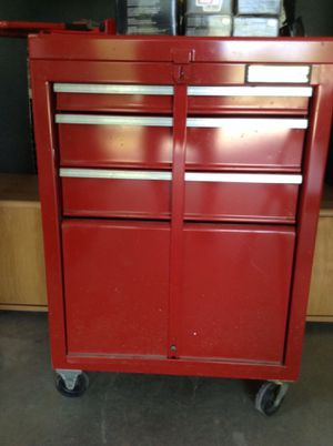 """22"""" x 31 1/2 """" Tool box with lock bar on wheels for Sale in Hudson, NH"""
