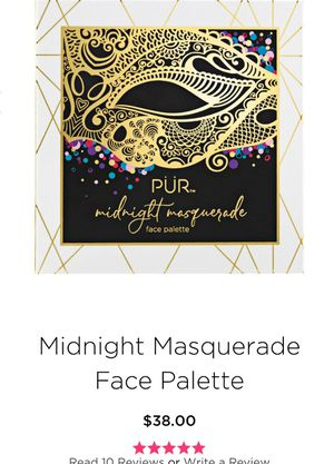 PUR Midnight Masquerade Face Palette... for Sale in Austin, TX