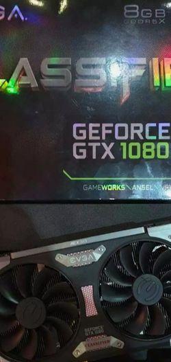 EVGA Gtx 1080 FTW 8gb Lightly Used. 500$ for Sale in Redlands,  CA