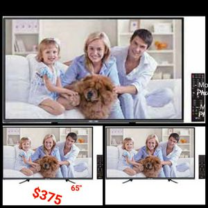 "65"" Class, 64.5"" Actual Diagonal Screen Size 4K UHD TV 3840 X 2160 Resolution 4 HDMI 60 Hz Energy Star certified Optical Out ARC Out for Sale in Orange, CA"
