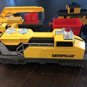 Catapillar Electric Train Construction Set Track for Sale in Pompano Beach, FL