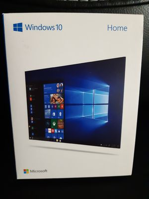 Brand New Microsoft Windows 10 Home software 32/64 bits USB 3.0 flash drive and activation card key included for Sale in Seattle, WA