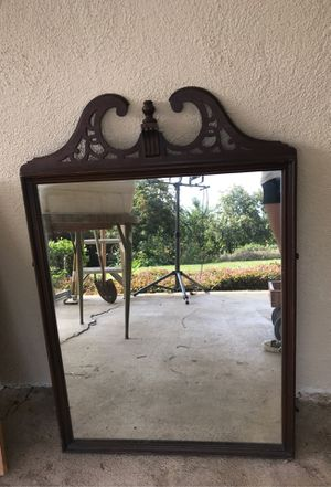 """Antique Mirror 32"""" + 6 1/2"""" tall X 26"""" wide for Sale in Upland, CA"""