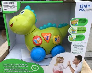 Child dino learning toy for Sale in El Monte, CA