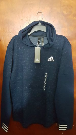 LIMITED EDITION ADIDAS MEN'S HOODIE SWEATER SIZE LARGE DARK NAVY BLUE BRAND NEW WITH TAGS SERIOUS BUYER'S ONLY for Sale in Huntington Park, CA