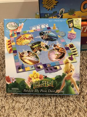 Disney Tinkerbell Pardon My Dust board game for Sale in Clackamas, OR