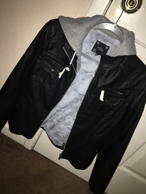 Royalty Leather Jacket - Size Medium (Never Worn) for Sale in Red Oak, TX