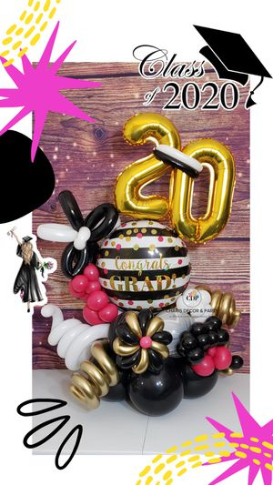 Graduate Balloon Bouquet for Sale in Kingsburg, CA