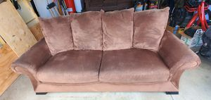 Microsuede Couch Sofa for Sale in Bend, OR