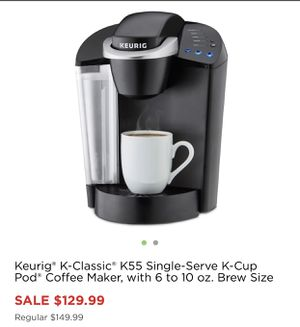 Keurig NEW & In box 📦 (Black and Red available) for Sale in Stockton, CA