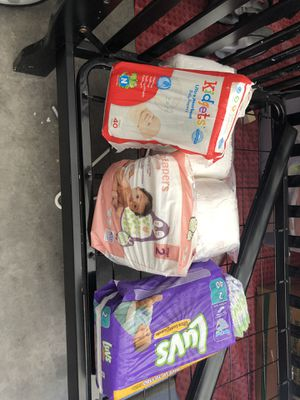 Newborn & stage 2 diapers for Sale in North Las Vegas, NV