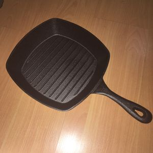 10inch cast Iron Grill Pan for Sale in Sebring, FL