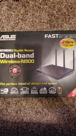 ASUS RT-N66U Dual-Band Wireless-N900 Gigabit Router for Sale in Phoenix, AZ