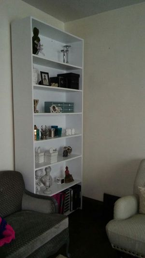 White Wood Bookcase Arhaus for Sale in Lakewood, OH