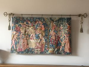 European tapestry medieval scene for Sale in McHenry, IL