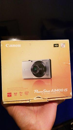 Canon Powershot A3400 IS digital camera for Sale in San Bernardino, CA