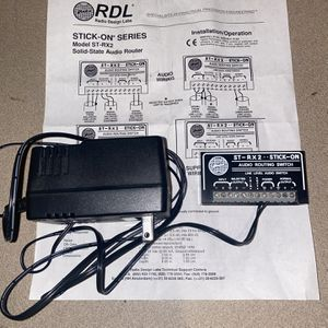 RDL ST-RX2 Audio Routing Switch for Sale in Pensacola, FL