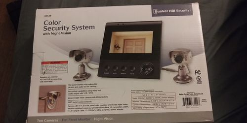 Bunker Hill Security Color Security System W/night Vision for Sale in Taylors,  SC