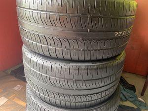Two tires 285/35/22 Pirelli Scorpion Zero with 50% left on sale pair for Sale in Miami, FL