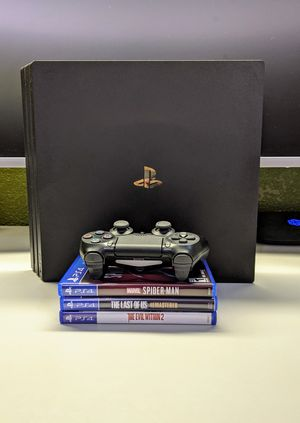 PS4 Pro Bundle - 1 TB - Adult Owned for Sale in Norwalk, CA