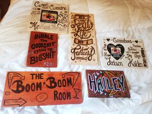 Personalized Wood Plaques for Sale in Madison Heights, VA