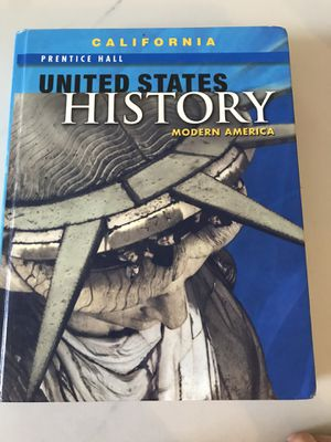 Pearson Prentice Hall United States History Modern America high school textbook for homeschooling for Sale in Irvine, CA