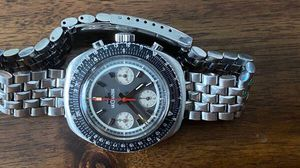 1966 E2647 Vintage JLC Jaeger LeCoultre Chronograph Valjoux 72 for Sale in US