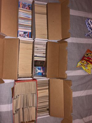 baseball and football cards (mainly baseball) from 1970-2010 for Sale in Kingsburg, CA