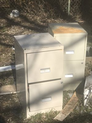 File Cabinets $15.00 for both for Sale in Baltimore, MD