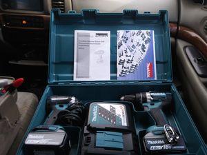 Makita Drill Set Brand New for Sale in San Antonio, TX