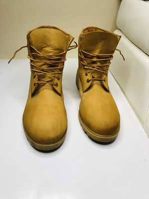 Boots timberlands construction size us 12 for Sale in Tampa, FL