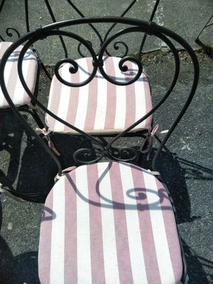 Patio Metal Chairs Heavy Duty for Sale in Washington, DC
