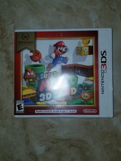 3ds Super Mario 3D Land (Case Only) for Sale in Mercedes,  TX