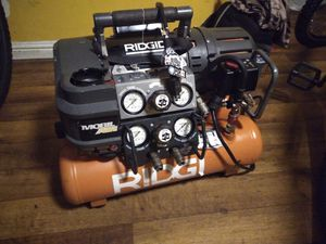 Ridgid compressor for Sale in Bellflower, CA