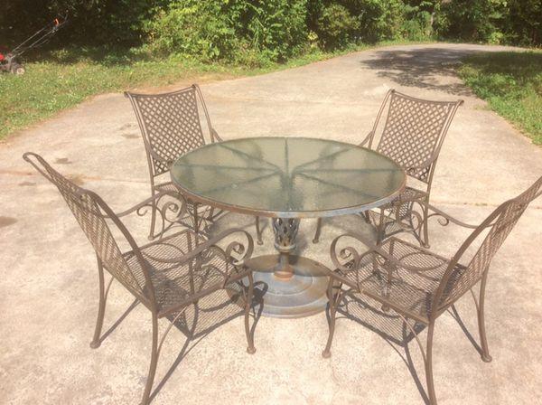 Wrought iron patio furniture for Sale in Atlanta, GA - OfferUp