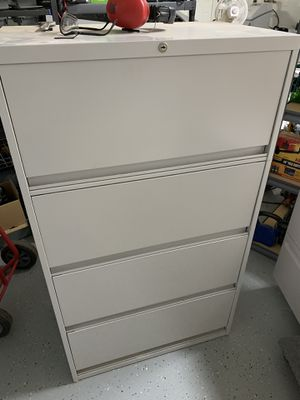 Vertical metal file cabinet for Sale in Waddell, AZ