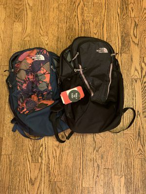 North face back packs only used for 15 days! for Sale in McHenry, IL